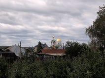 Villaggio di Diveevo Immagine Stock Libera da Diritti