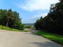 Villaggio di Dobrivlyany fotografia stock
