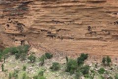 Villaggio di Dogon, Mali Fotografia Stock Libera da Diritti