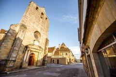 Villaggio di Domme in Francia Fotografie Stock Libere da Diritti