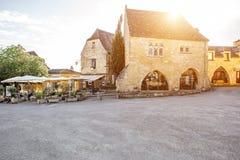Villaggio di Domme in Francia Fotografia Stock Libera da Diritti