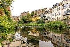 Villaggio di Edimburgo Fotografia Stock Libera da Diritti