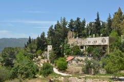 Villaggio di Ein Kerem a Gerusalemme - Israele Immagine Stock