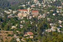 Villaggio di Ein Kerem a Gerusalemme - Israele Fotografia Stock