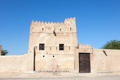 Villaggio di eredità in Fujairah Fotografia Stock Libera da Diritti