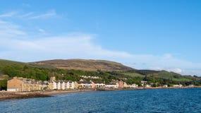 Villaggio di Fairlie & ayrshire del nord Scozia della baia Fotografia Stock Libera da Diritti