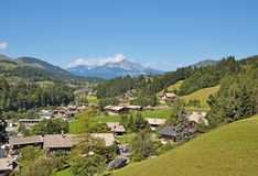 Fieberbrunn, Tirolo, Austria Fotografia Stock Libera da Diritti
