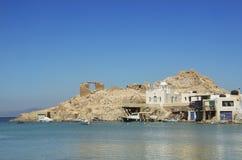 Villaggio di Firopotamos Fotografia Stock