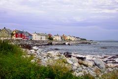 Villaggio di Fishermens Immagini Stock Libere da Diritti