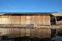 Villaggio di galleggiamento Immagini Stock