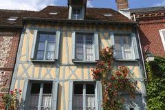 Villaggio di Gerberoy, Francia Fotografia Stock