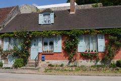 Villaggio di Gerberoy, Francia Immagini Stock