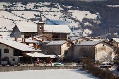 Villaggio di Gerendiain Fotografie Stock Libere da Diritti