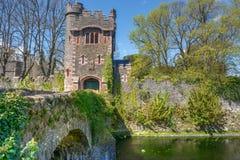 Villaggio di Glenarm, Irlanda del Nord Fotografia Stock