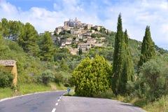 Villaggio di Gordes in Francia Fotografia Stock