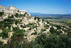 Villaggio di Gordes, Francia Fotografie Stock