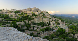 Villaggio di Gordes in Provenza Fotografia Stock