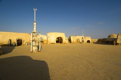Villaggio di Guerre Stellari Fotografia Stock