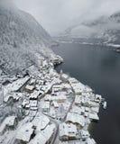 Villaggio di Hallstat in Austria Fotografia Stock