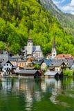 Villaggio di Hallstatt, Austria Immagine Stock Libera da Diritti