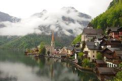 Villaggio di Hallstatt, Austria Immagine Stock