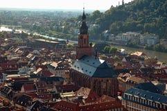 Villaggio di Heidelberg Fotografia Stock