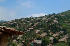 Villaggio di Hillmen Immagini Stock