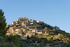 Villaggio di Hillside in Provenza Francia Immagine Stock