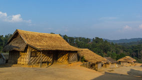 Villaggio di Hilltribe, Shan State, Myanmar Fotografia Stock Libera da Diritti