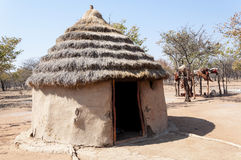 Villaggio di Himba Immagini Stock