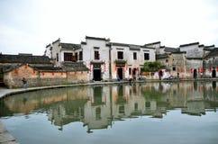 Villaggio di Hongcun Fotografie Stock