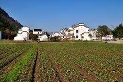 Villaggio di Hualinankeng Fotografia Stock Libera da Diritti