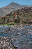 Villaggio di Imlil, Toubkal Fotografia Stock Libera da Diritti