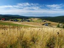 Villaggio di Jizerka Immagine Stock Libera da Diritti