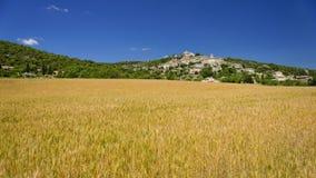Villaggio di Joucas in Provenza Immagini Stock Libere da Diritti