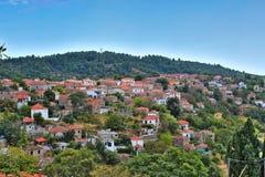 Villaggio di Lafkos Fotografia Stock Libera da Diritti