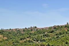 Villaggio di Lafkos Immagine Stock Libera da Diritti