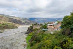 Villaggio di Lahich, Azerbaigian Immagini Stock