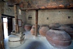Villaggio di Lania - Cipro Fotografie Stock Libere da Diritti