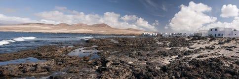 Villaggio di Lanzarote Fotografia Stock