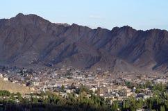 Villaggio di Leh, Ladakh, India del Nord Immagine Stock Libera da Diritti