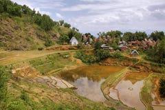 Villaggio di Limbong Fotografia Stock Libera da Diritti