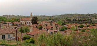 Villaggio di Lofou Immagini Stock