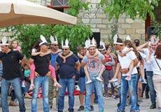 Villaggio di Lofou a Limassol Immagini Stock Libere da Diritti