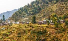 Villaggio di Malana, Himachal, India Immagine Stock Libera da Diritti