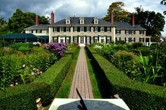 Villaggio di Manchester: VT: Hildene, casa di estate di Robert Todd Lincoln Immagini Stock
