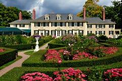 Villaggio di Manchester, VT: Hildene, casa di estate di Robert Todd Lincoln Fotografia Stock