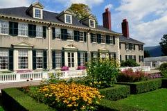 Villaggio di Manchester, VT: Hildene, casa di estate di Robert Todd Lincoln Fotografie Stock