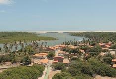 Villaggio di Mandacaru Immagine Stock