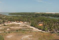 Villaggio di Mandacaru Fotografia Stock
